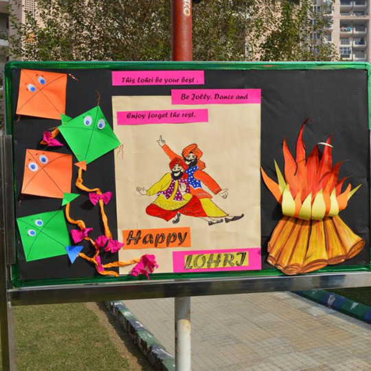 On this joyous festival sending warm wishes! SRSIS- HAPPY LOHRI