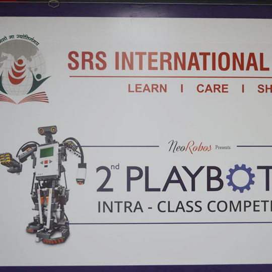 PRE-PRIMARY--2nd PLAYBOTIC INTRA-CLASS COMPETITION !