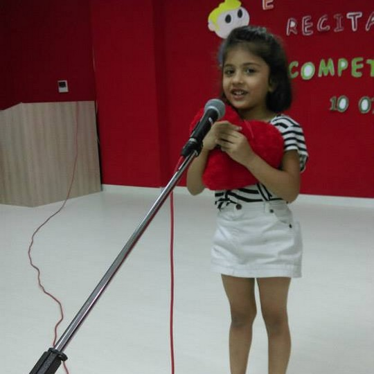 English Rhyme Recitation Competition