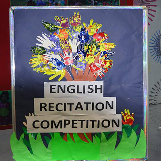 CLASS I & II- ENGLISH RECITATION COMPETITION